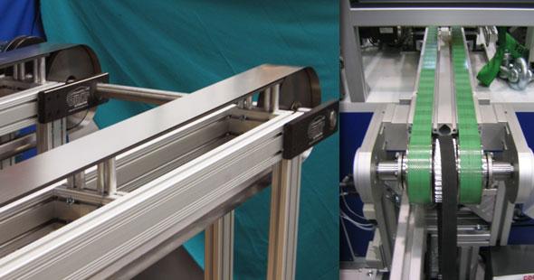 Edelstahlband für Photovoltaik Herstellanlagen - Teflon beschichtetes Stahlband in Stringer Anlage