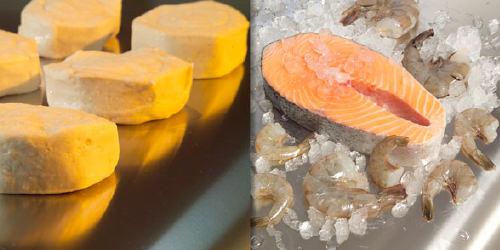 Stahlband für Bäckereianwendungen - Edelstahlbänder zur Verarbeitung von Fisch und Meeresfrüchten