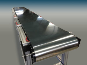 Wide belts can be used for multiple applications.