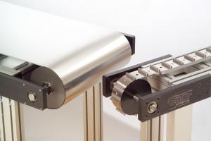 sistemas de esteiras em aço inoxidável