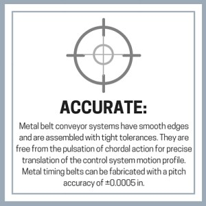 metal belt conveyor system design