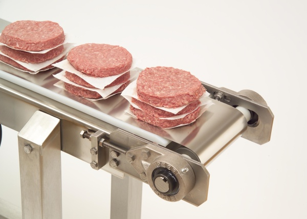 Solid Stainless Steel Belts and Conveyor Systems Reduce Food Processing Contamination
