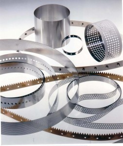 perforated metal belts