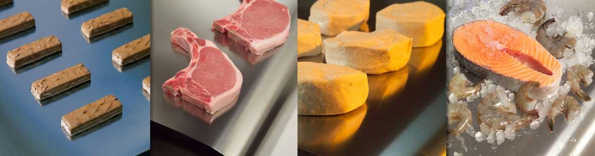 Feste Edelstahl-Transportbänder für Anwendungen in der Lebensmittelverarbeitung