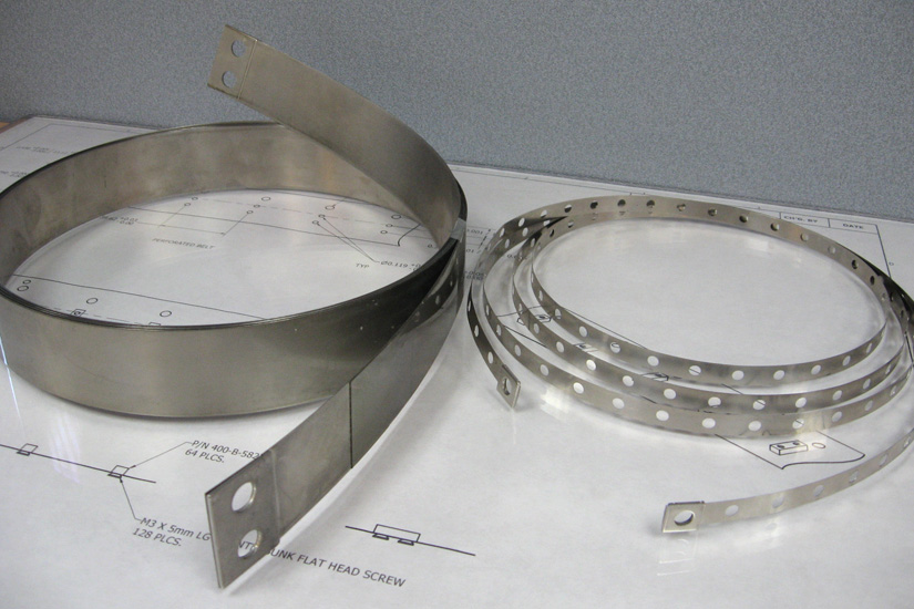 Stainless Steel Drive Tapes for CMM Machinery and Metrology Equipment