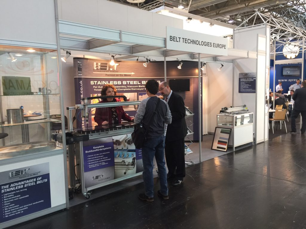 belt technologies exhibit at interpack 2017