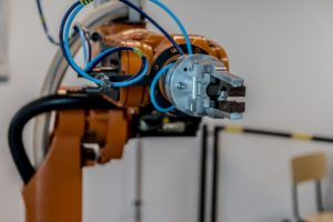 automated assembly robotic arm