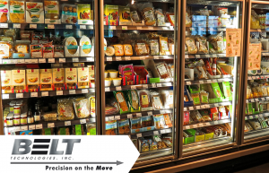 Picture of a frozen food section for blog about Food Processing Solutions